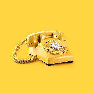 Gelbes Telefon